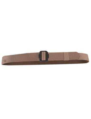 Tru-Spec Security Friendly Reversible 100/% Nylon Webbing W// Black Buckle Belt