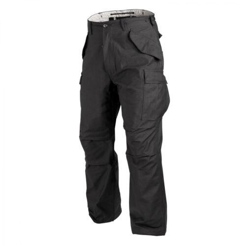 HELIKON-Tex m65 pantalones edc outdoor militar Bundeswehr Army-NYCO sateen-negro