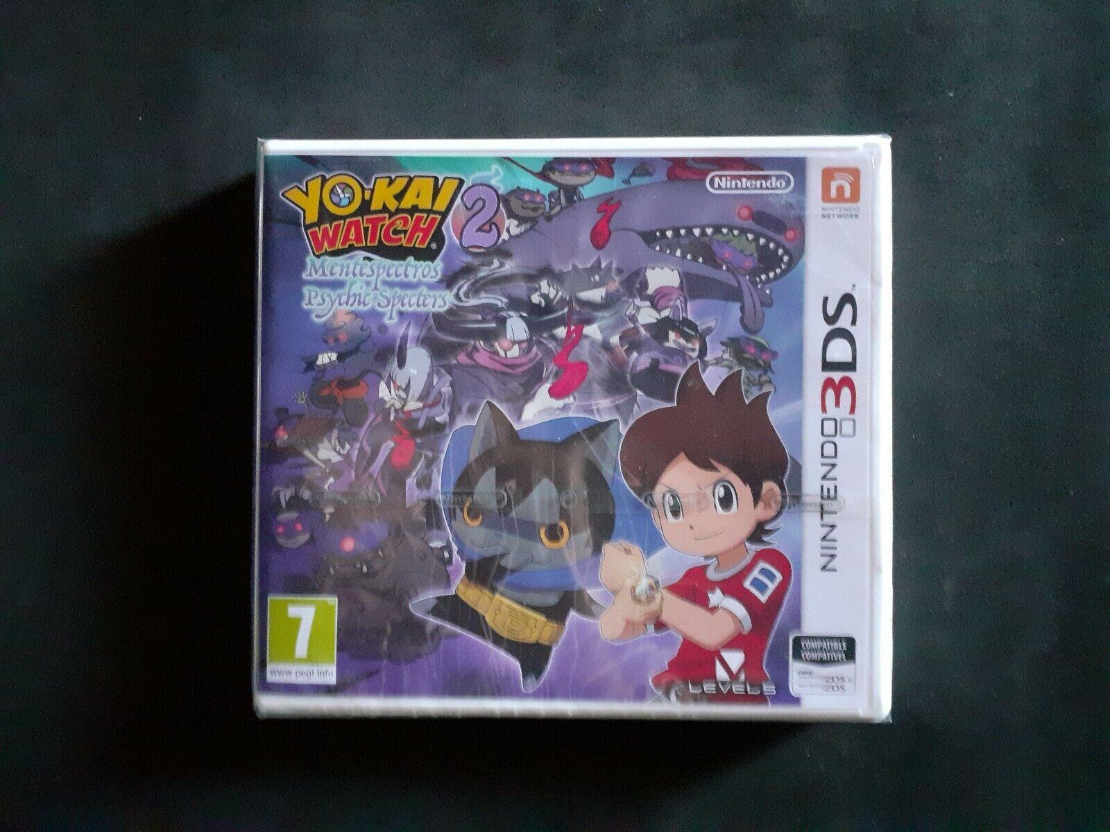 YO-KAI YOKAI YO KAI WATCH 2 MENTESPECTROS - 3DS - PAL ESPAÑA...