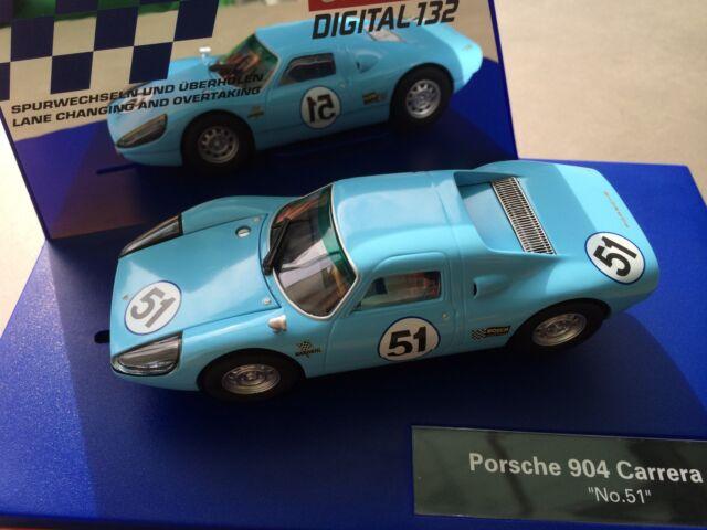 "Carrera Digital 132 30682 Porsche 904 Carrera GTS /""No.51/""  Karosse+Chassis NEU"