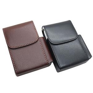 PU-Leather-Pocket-Tobacco-Cigarette-Smoke-Holder-Storage-Case-Box-With-Lighter