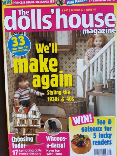 THE DOLLS HOUSE MAGAZINE ISSUE 111