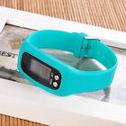 Digital LCD Pedometer Wrist Step Run Walking Distance Calorie Counter Watch