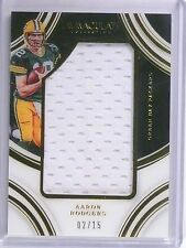 2016 Panini Immaculate Collection Aaron Rogers Jersey #D02/15 #AR *60561