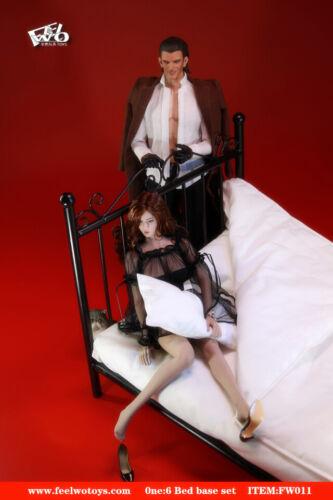 FEELWOTOYS FW011A 1//6 Metal Bed Base /& Mattress Pillow Quilt Sheet Figure Model
