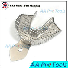 Dental Impression Trays Stainless Steel Autoclavable Choose Size