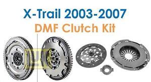 For-a-Nissan-X-Trail-T30-2003-2007-LUK-Dual-Mass-Flywheel-Clutch-Kit-New
