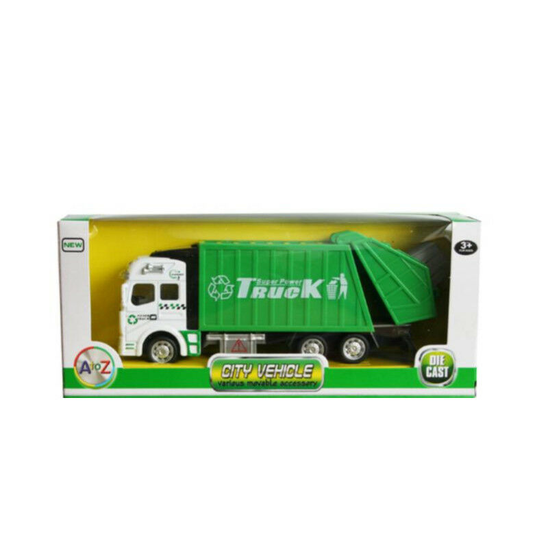 Toys for Boys Green Garbage Car Truck Toy 2 3 4 5 6 7 8 9 10 Year Age Old Gifts