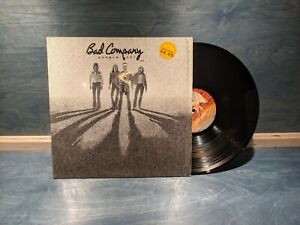 Orig Bad Company Burnin Sky USA Vinyl LP In Shrink with Stickers