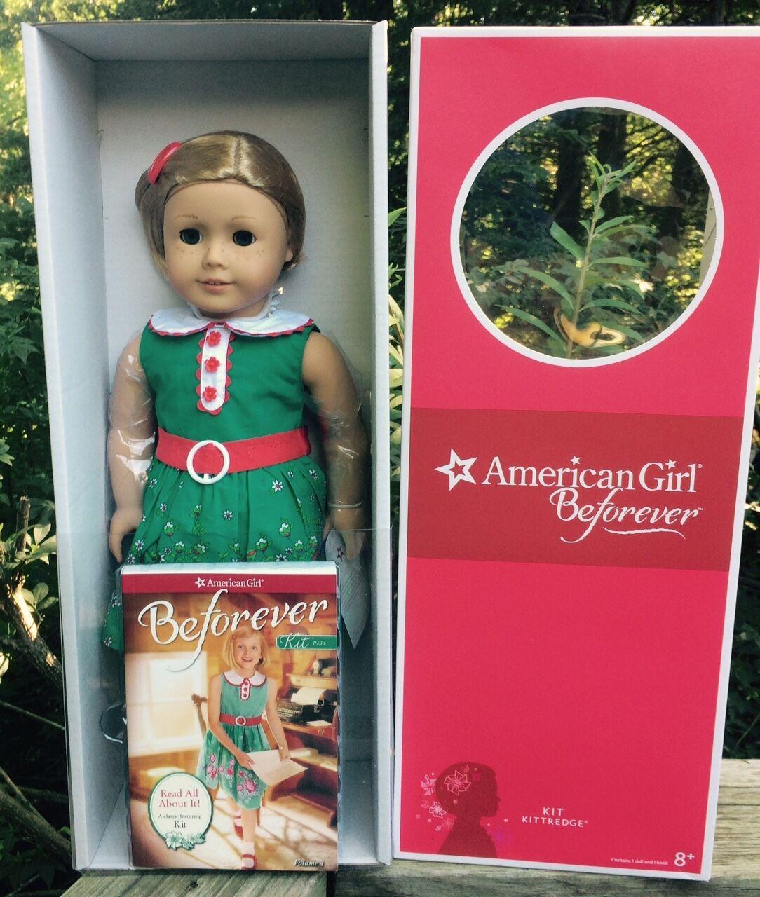 Kit De La Muñeca American Girl y libro en rústica 18 Pulgadas Nuevo En Caja
