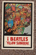 Beatles Yellow Submarine Lobby Card Poster #4