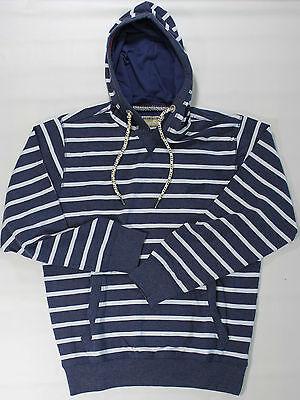 XXL Redfield Kapuzen Sweatshirt in blau mit Turtleneck