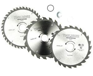 TCT Circular Saw Blades 3pk 185-30 20 16mm DIY Power Tool Accessories