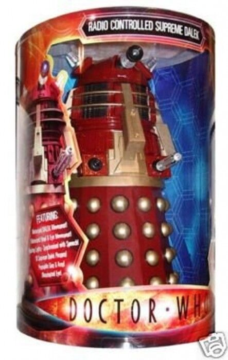 Doctor Who 18″ Radio Controlled Supreme Red Dalek New- Sealed Rare