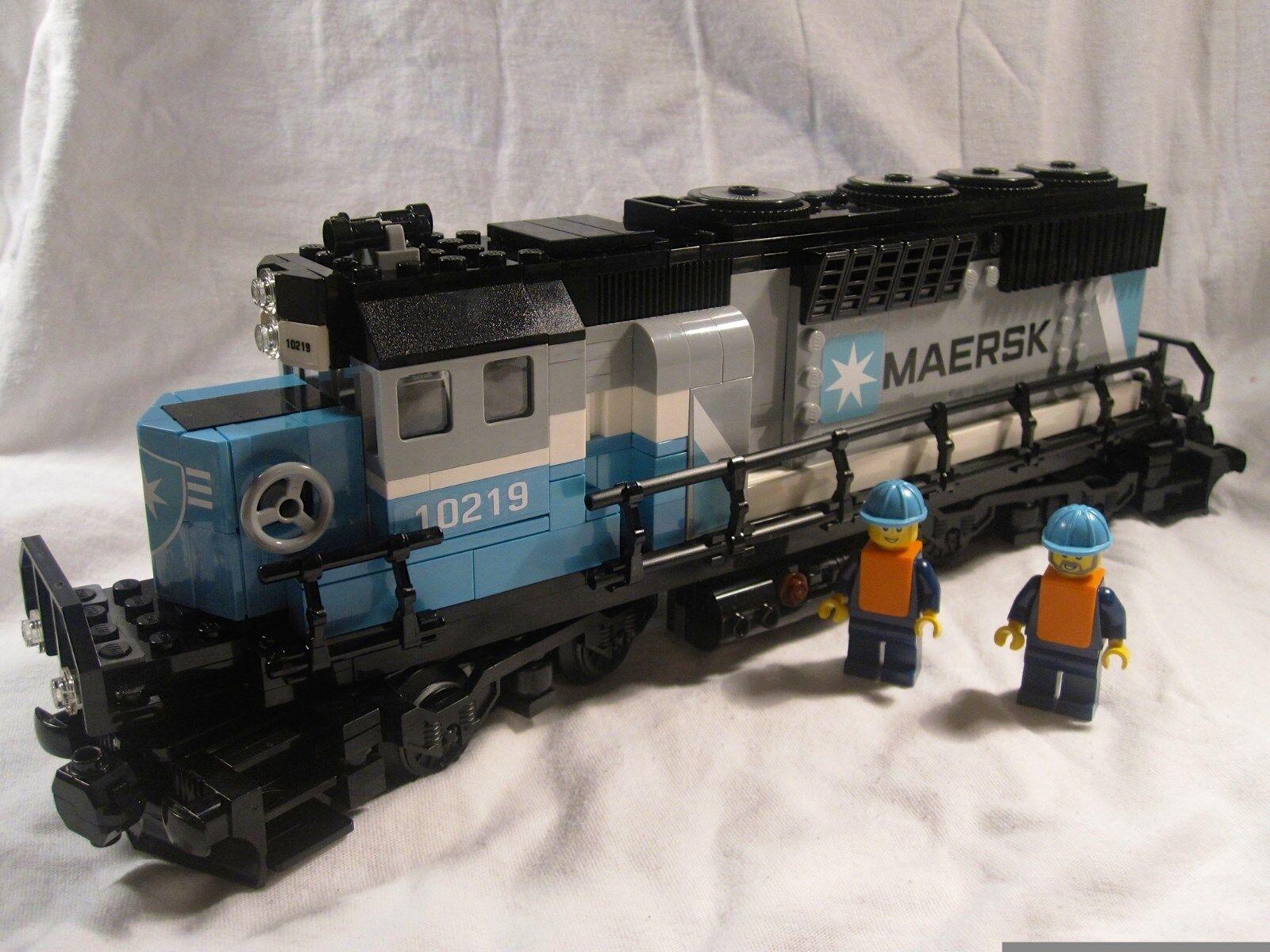 LEGO Train City Creator Maersk moteur diesel Comme neuf 10219 10194 10233