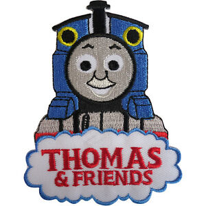 Thomas the Tank Engine and Friends Patch Iron On Sew On Train Embroidered Badge