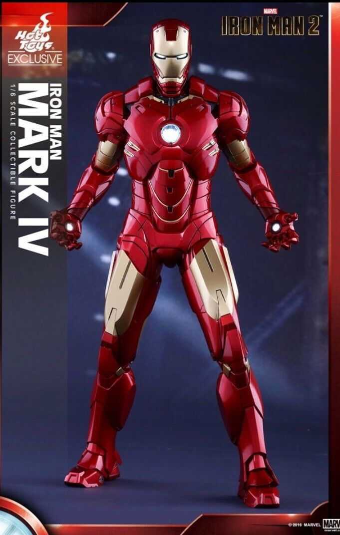 Hot Toys Shanghai Store Exclusive Iron Man Mark IV MMS 338