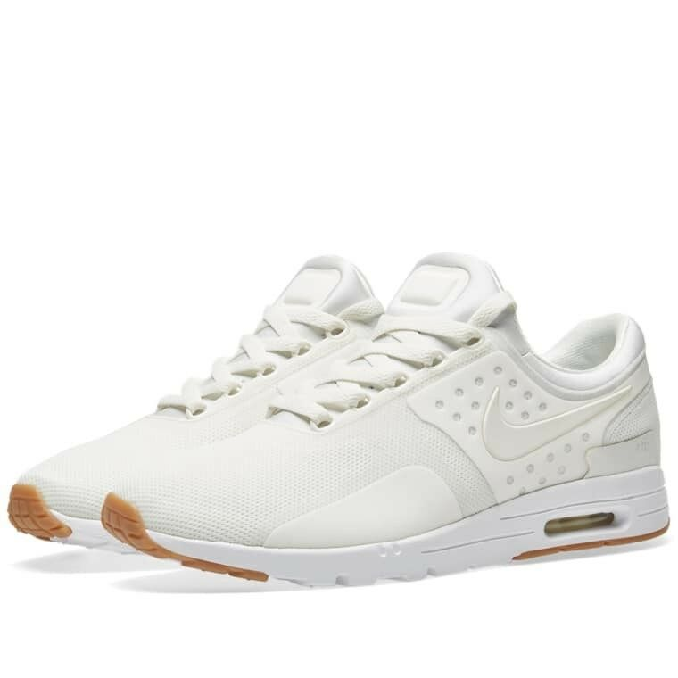Nike Femme Air Max Zero SAIL & GUM Trainers 857661 2018 Multiple Taille