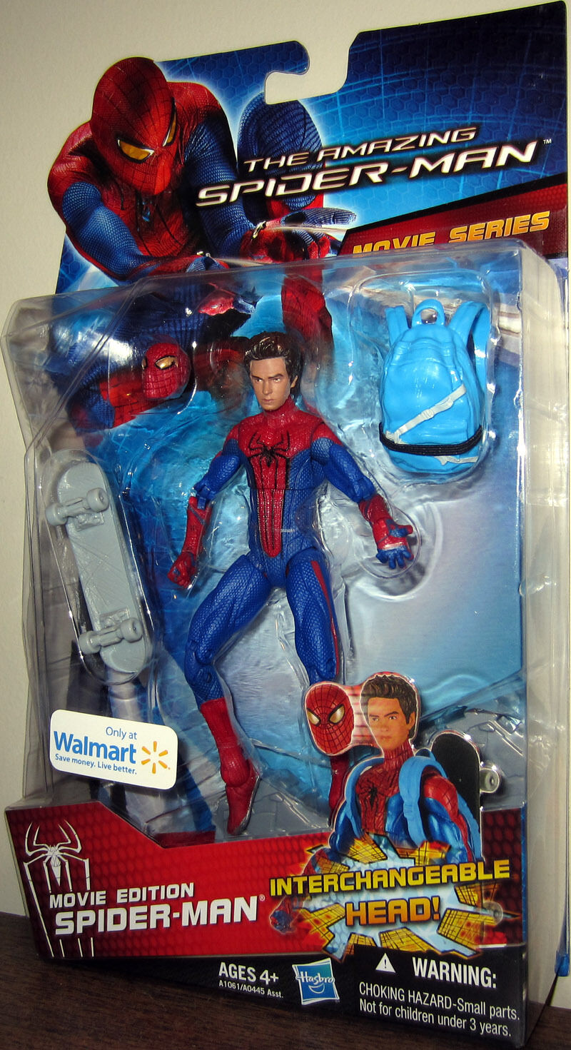 The The The Amazing SPIDER-MAN_Movie Series_Unmasked SPIDER-MAN 6  figure_Exclusive_MIP f99954