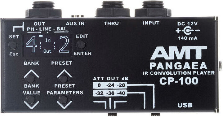AMT Pangaea CP-100 – compact IR player-cabinet emulator and EQ