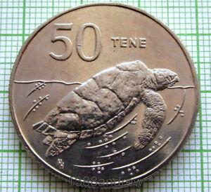 COOK-ISLANDS-ELIZABETH-II-1988-50-TENE-HAWKSBILL-TURTLE-UNC