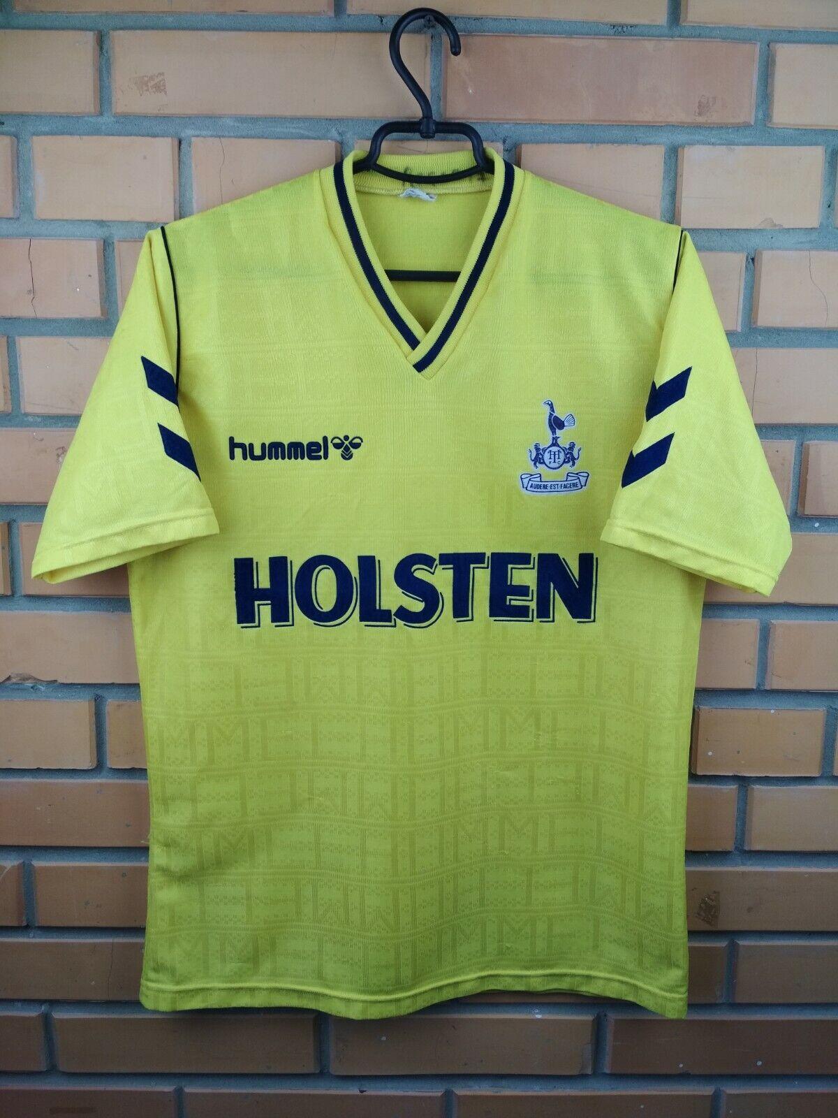 Tottenham Hotspur Camiseta Talle Medio 1988 1991 Away Camiseta De Fútbol Fútbol Hummel