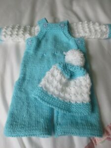 "Hand Knitted 13/14"" First Baby Annabell Doll Set.-afficher Le Titre D'origine"