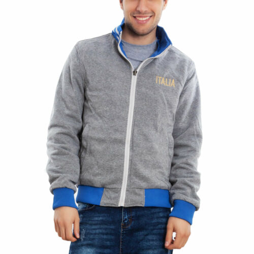 Details about  /Men/'s Jacket Sweatshirt Italy Double Face Hood Casual Toocool IRX-1171