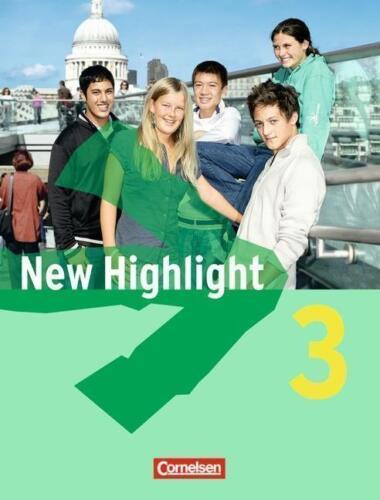 1 von 1 - New Highlight - Allgemeine Ausgabe: Band 3: 7. Schuljahr - Schülerbuch: Festeinb