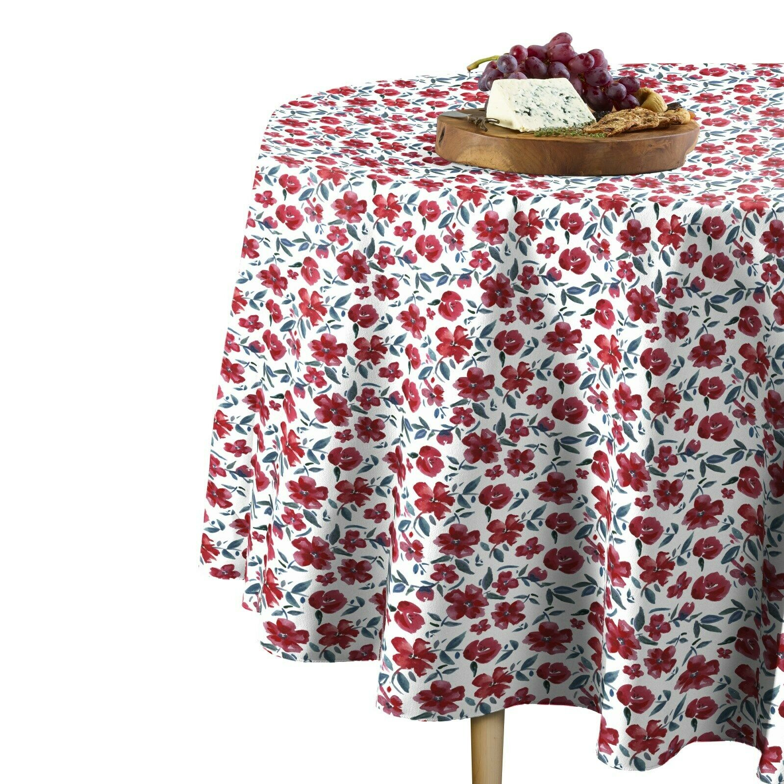 Painted Flowers Signature Round Tablecloth Assorted Größes