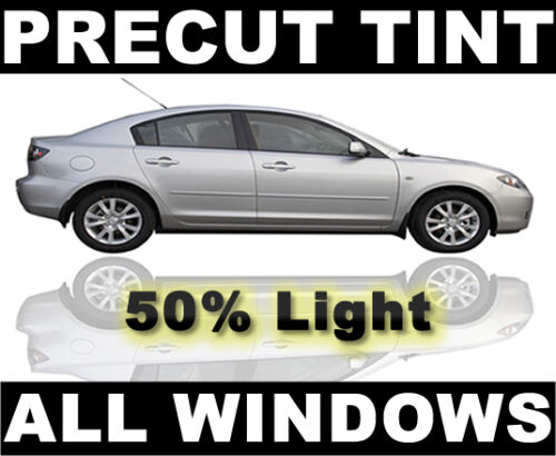 Light 50/% VLT AUTO FILM Chevy Corvette 99-04 PreCut Window Tint