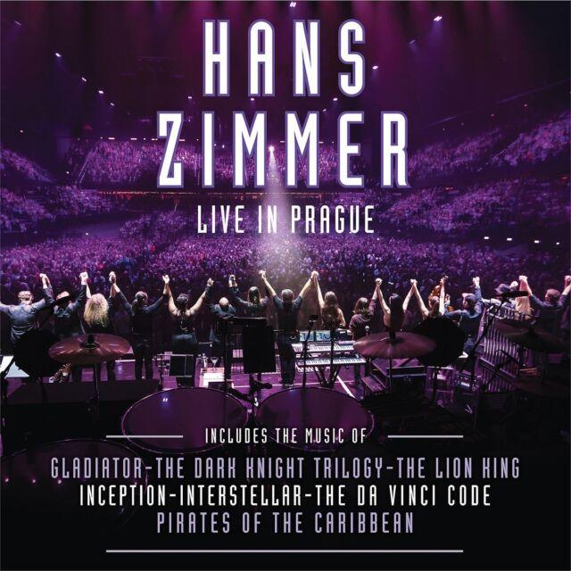 ZIMMER HANS - Live In Prague, 2 Audio-CDs
