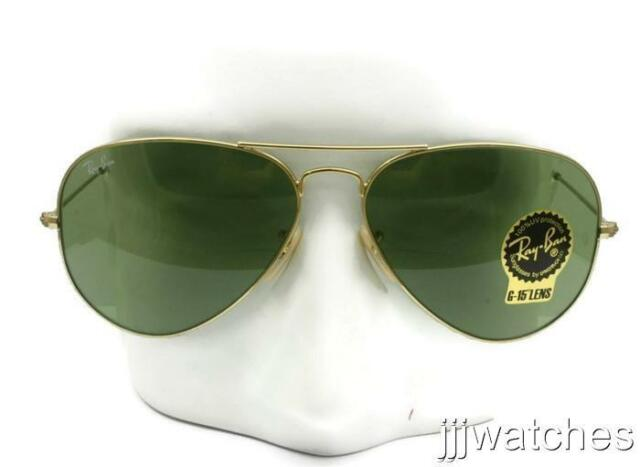 b95a70dd5cacc where to buy new rayban aviator large green g 15 lens gold sunglasses rb3025  001 14