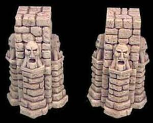 Roleplay-Scenery-D-amp-D-Heroquest-25mm-Tall-Room-Supports
