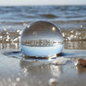 40-50mm-Clear-Glass-Crystal-Ball-Healing-Sphere-Photography-Props-Decor-G-rs