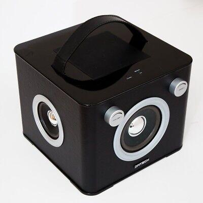 DMTECH BTi40 Portable Boom Box Bluetooth Speakers Dock iPod/iPhone/iPad -  Black | eBay