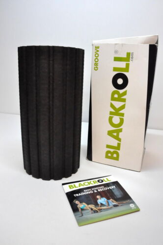 BLACKROLL Groove schwarz Fitness Rolle Massage Rolle 16-LY5070/247