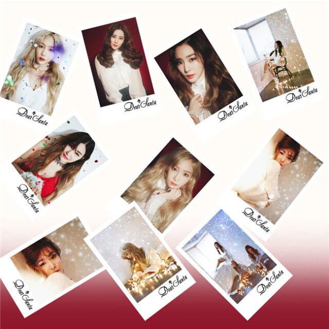10pcs SNSD  Photo LOMO Cards TAETISEO DEAR SANTA (Christmas Special Album)