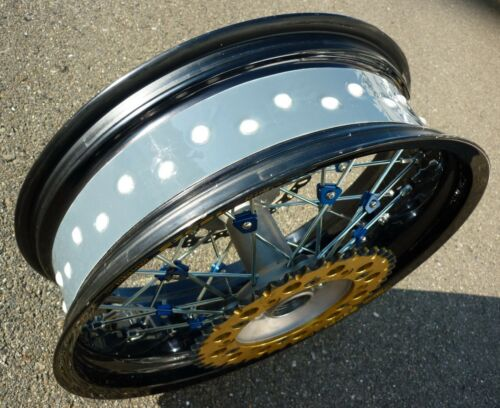 DID Rim Tubeless Kit Spoke Wheel Front 17×2.50 MT Rear 17×4.00 4.25 MT OUTEX