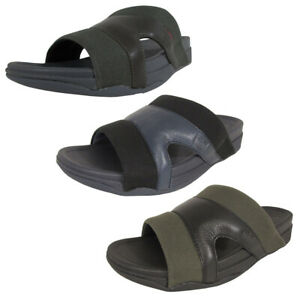 Fitflop-Mens-Freeway-Leather-Canvas-Pool-Slide