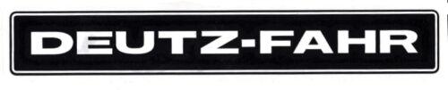 Deutz Fahr Aufkleber Kotflügel D3607 Baureihe Logo Emblem Sticker .