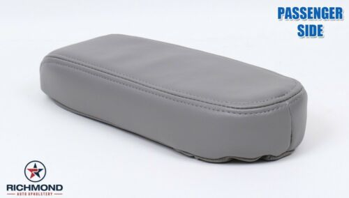Driver Side Replacement LEATHER Armrest Cover Gray 97 98 99 Lincoln Navigator