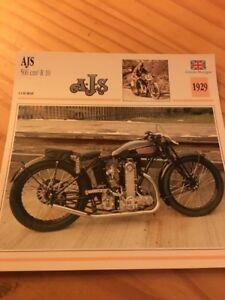 AJS-500-cc-R10-1929-Card-motorrad-Collection-Atlas