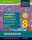 Complete English for Cambridge Secondary 1: For Cambridge Checkpoint and Beyond: Student Workbook 8 by Tony Parkinson, Alan Jenkins (Undefined, 2016)