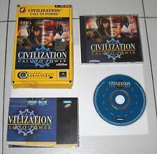 Gioco Pc Cd CIVILIZATION Call to power - Leader 1999 Classic collection Box