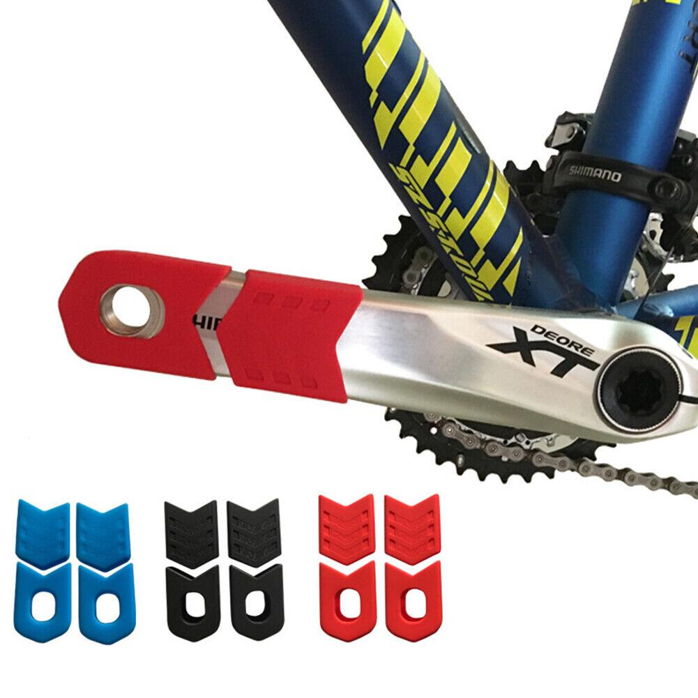4PC Crank Protector Cover Guard Cycling MTB Bike Chainset For SRAM//FSA//Shimano