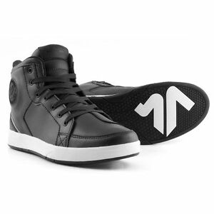 Pair-Trainers-Shoe-Motorbike-V-039-Quattro-Twin-Black-Size-47