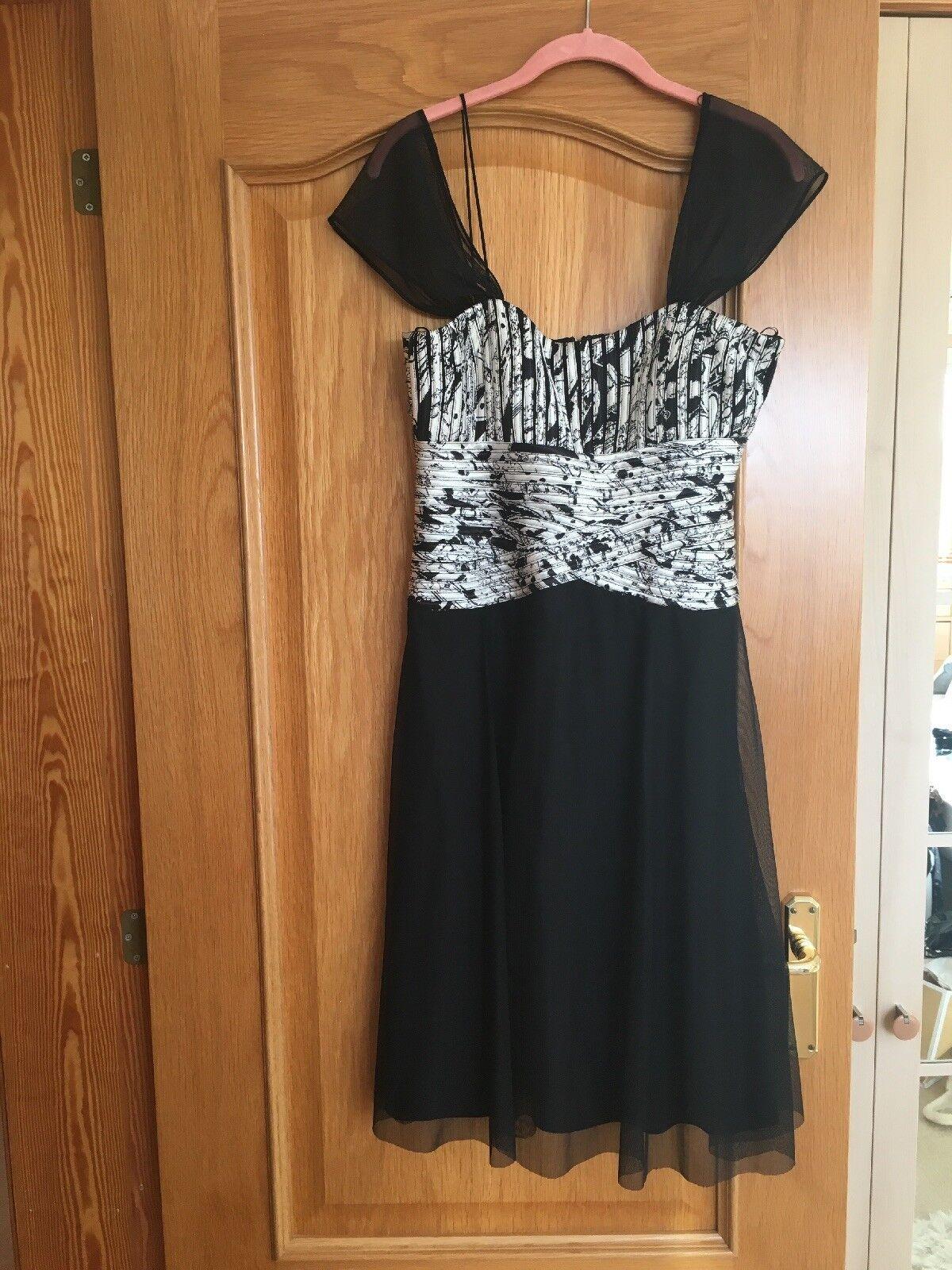JS Boutique Evening Dress Size 10 Cruise Partywear