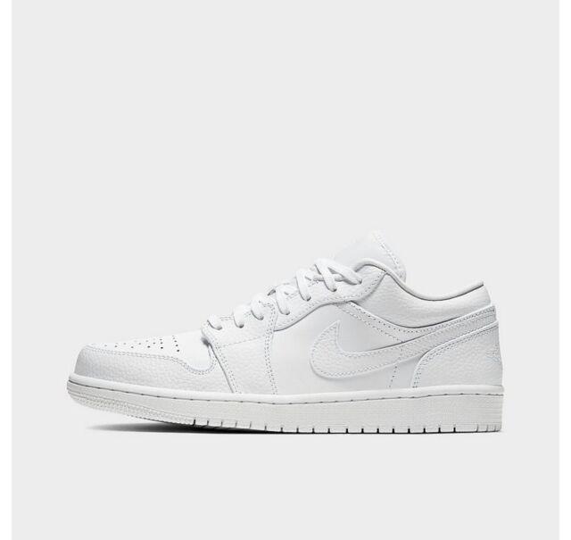 Size 13.5 - Jordan 1 Low Triple White 2020