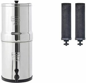 Travel Berkey Water System With Black Filters and/or Fluoride Filters (1.5 Gal)